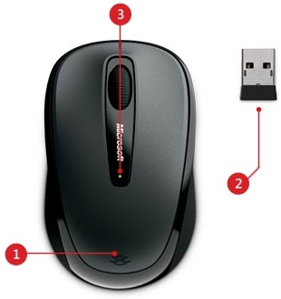Wireless Mobile Mouse 3500 от MicroSoft