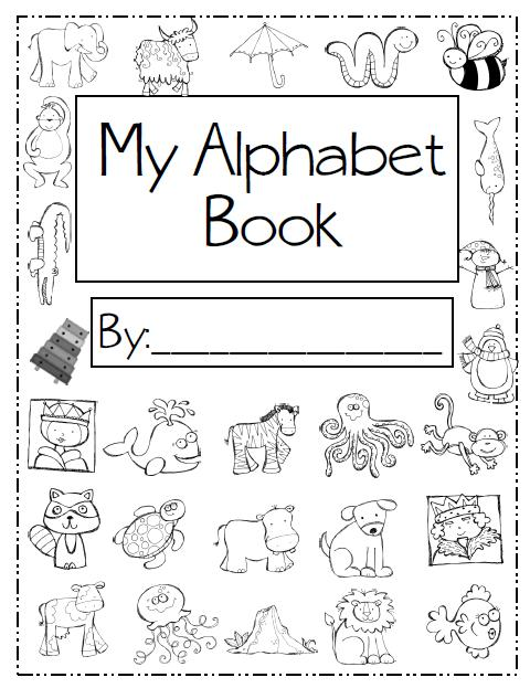 Vibrant image throughout abc book printable