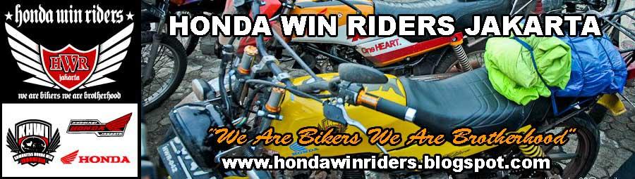 Honda Win Riders Jakarta (HWR)