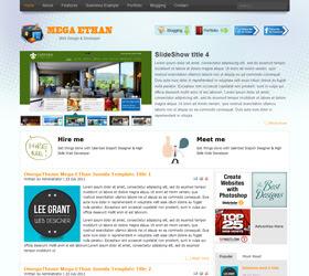 Mega EThan - Free Joomla Templates
