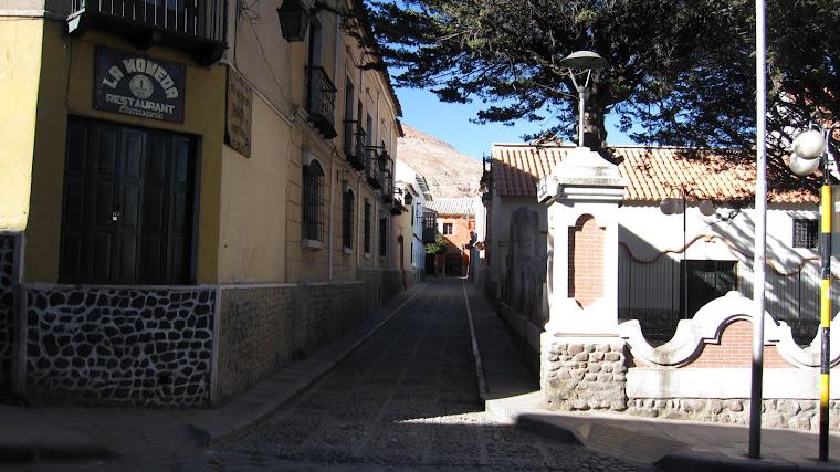 Calle Cobija - Pasaje