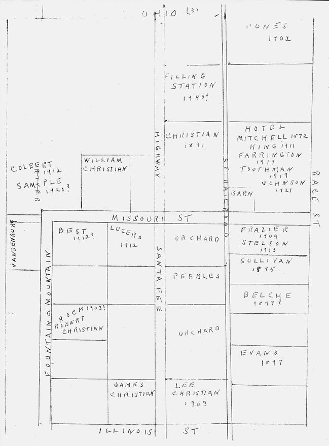 Historic Fountain Colorado: The Bulkley Files on