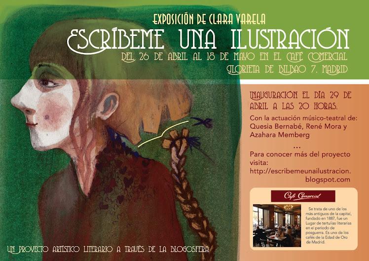"""Exposición """"Escribeme una ilustración"""""""