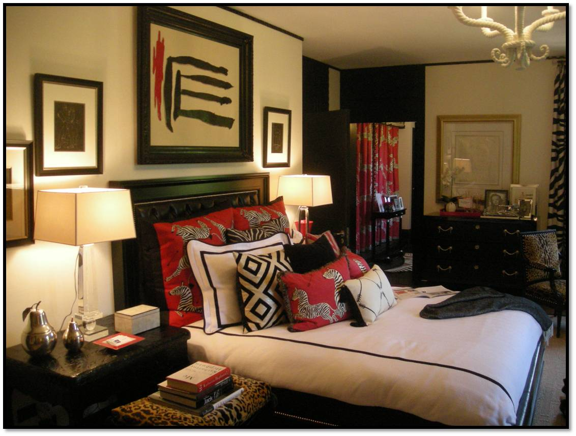 black and white with a splash of color bedroom an inspired bedroom