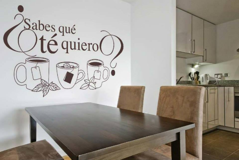 Lr multiservicios vinilos decorativos para cocina y comedor - Vinilos pared comedor ...