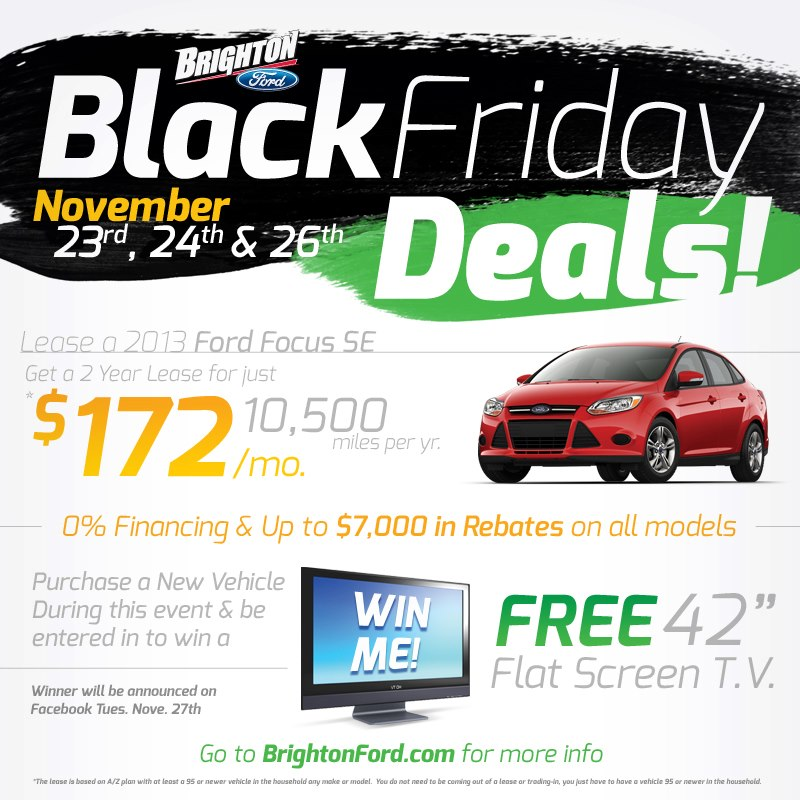 Last Minute Black Friday Deals!