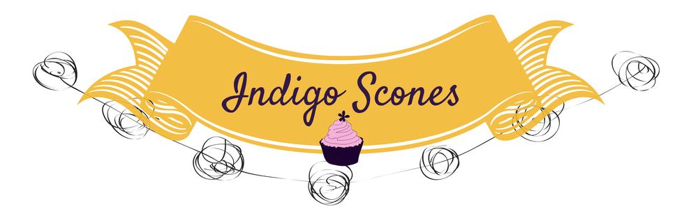 Indigo Scones