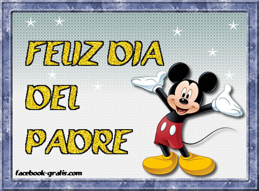 Mickey mouse para el da del pap