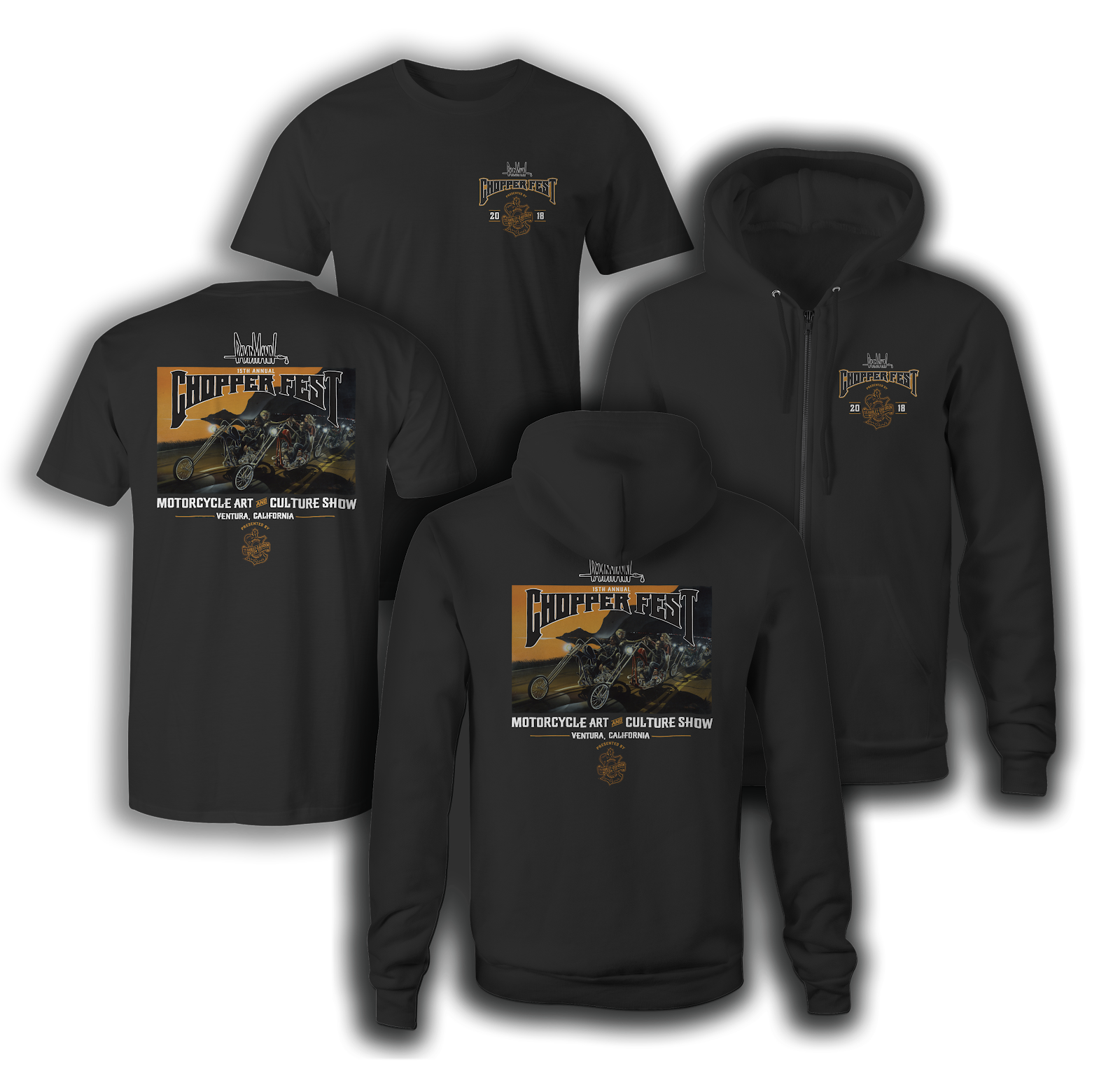 15th Annual Event T-shirts and Hoodies