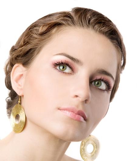 coiffurete dance maquillage de mari e pour yeux verts. Black Bedroom Furniture Sets. Home Design Ideas