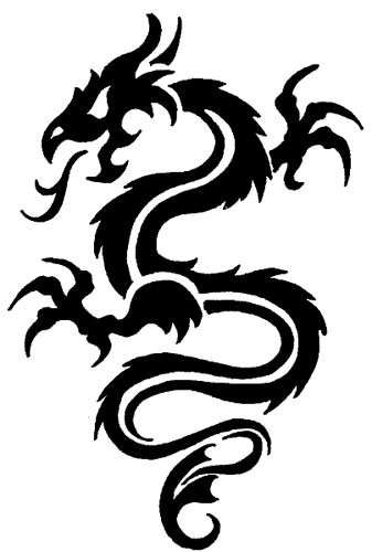 New Dragon Tattoos for Girls