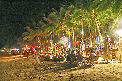 boracay vacation packages_night life