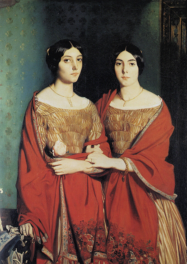 theodore chasseriau sisters