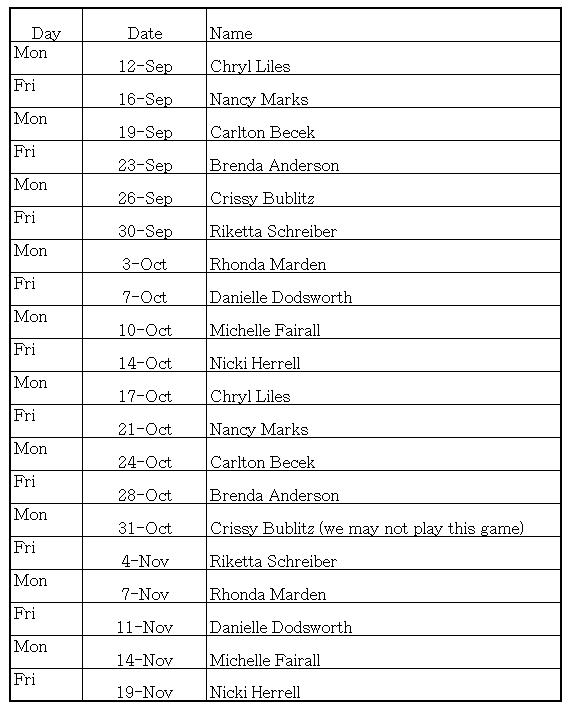snack schedule template - Vertola