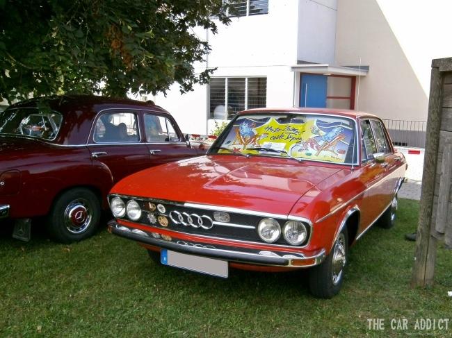 orange Classic Audi