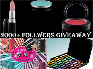 Madiha's Makeup Blog Giveaway