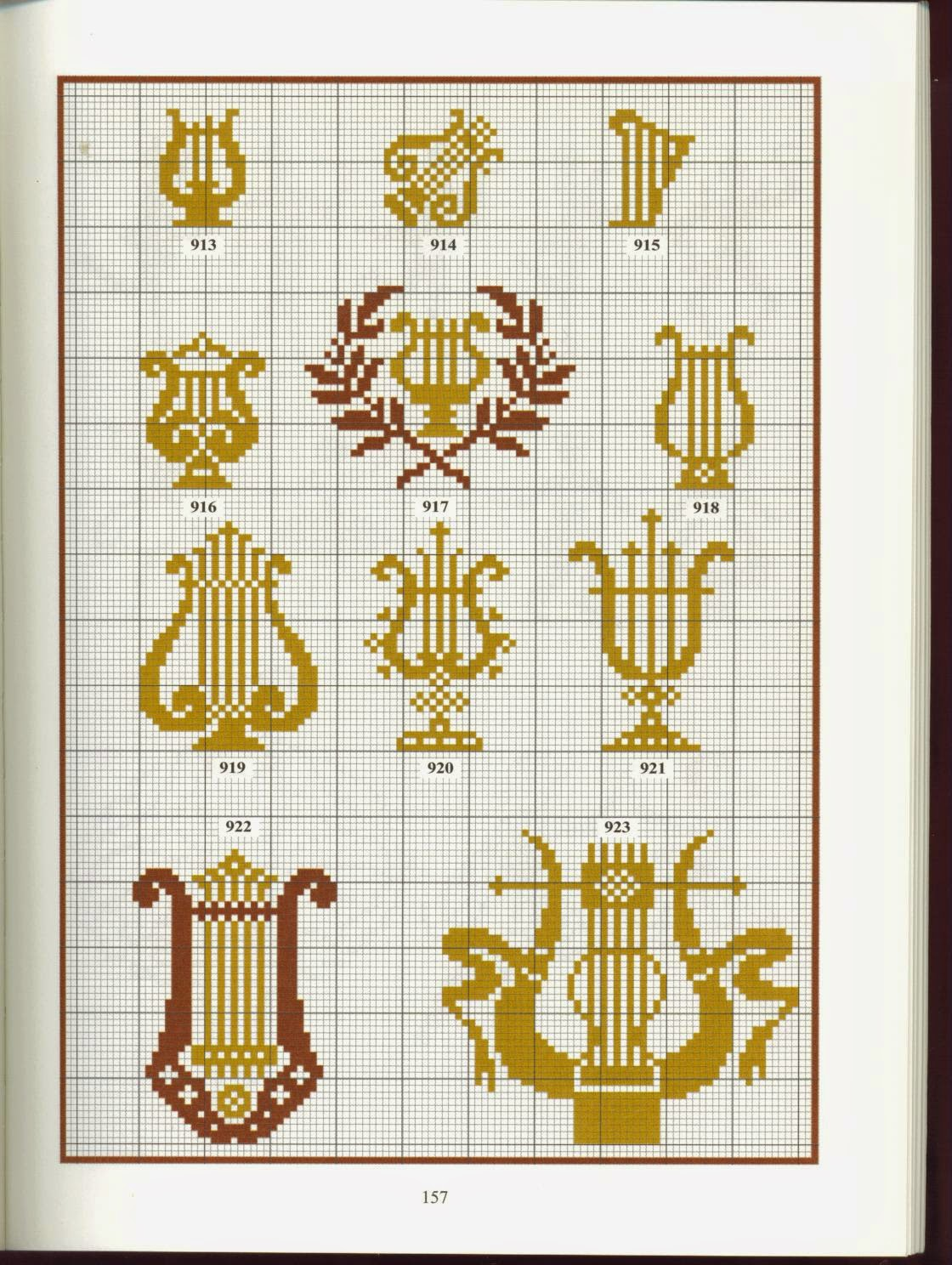 Схема вышивки гречанки 95
