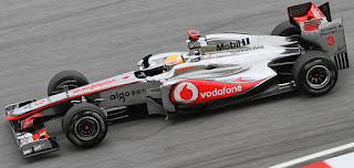 Gambar Mobil Balap F1 McLaren 08
