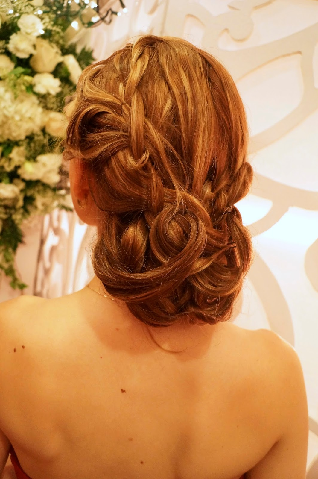 Romantic Wedding Updo Hairstyle