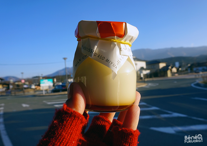 pudding japonais