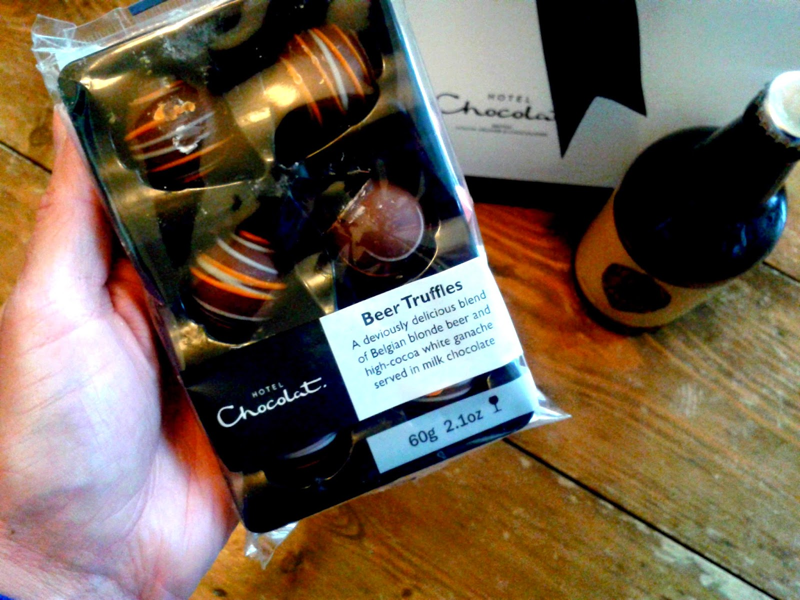 Beer Truffles from Hotel Chocolat // 76sunflowers