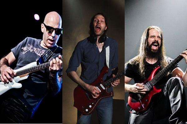 Joe Satriani featuring Paul Gilbert & John Petrucci