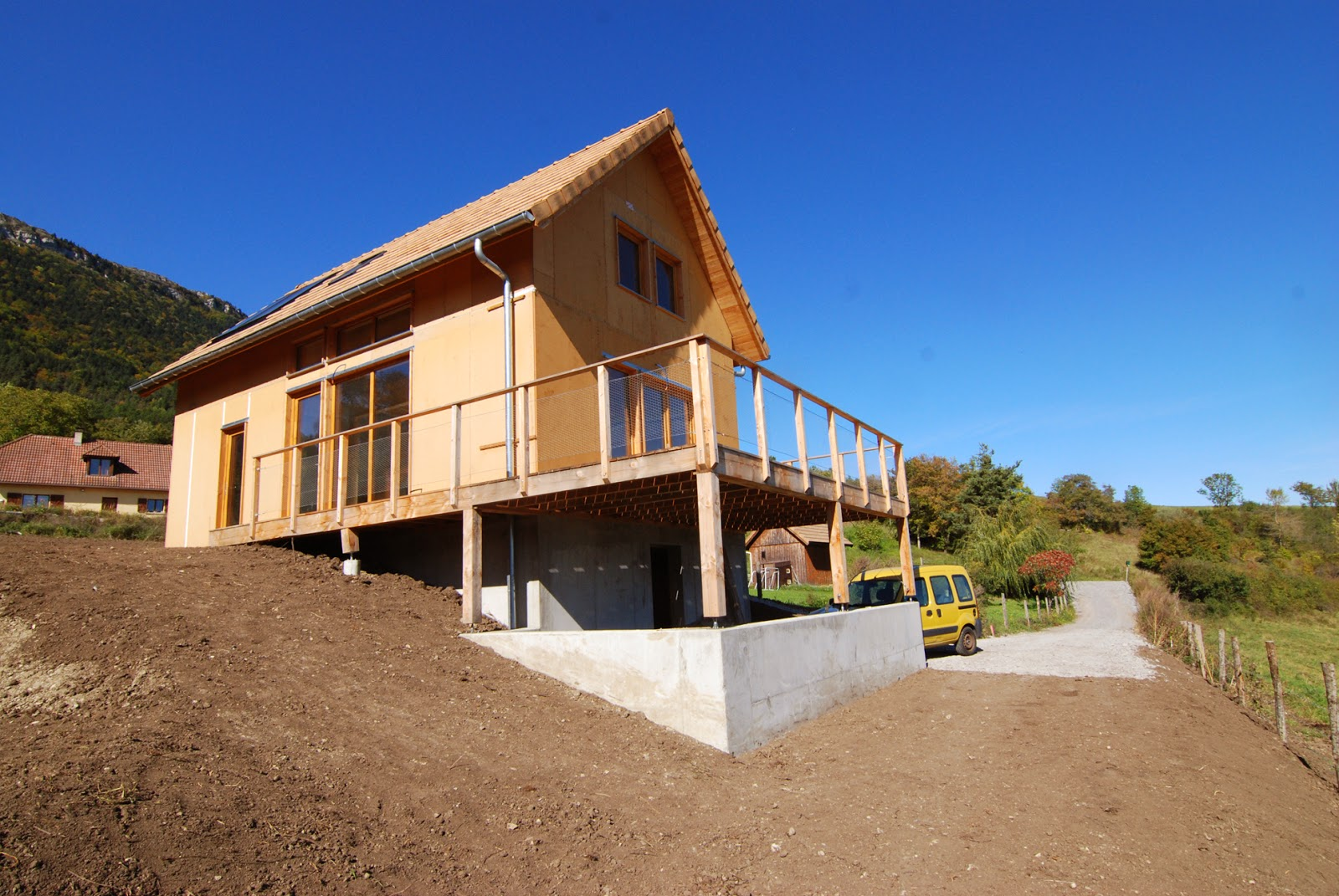 Architecte maison ossature bois maison ossature bois for Architecte maison bois