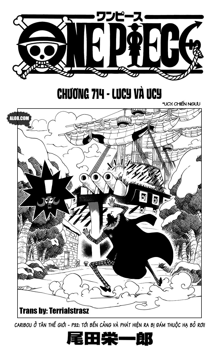 One Piece Chapter 714: Lucy và Ucy 001