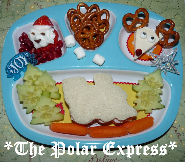 polar express santa lunch