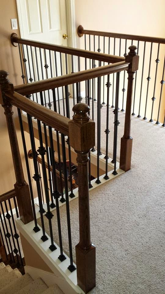 iron baluster installation atlanta