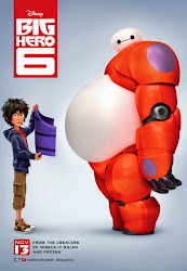 Big Hero 6 hiro baymax movie poster malaysia