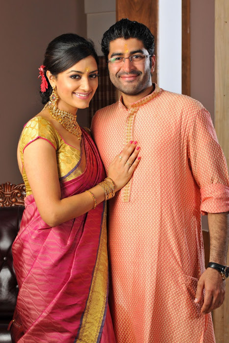 Mamta mohandas Engagement photos gallery