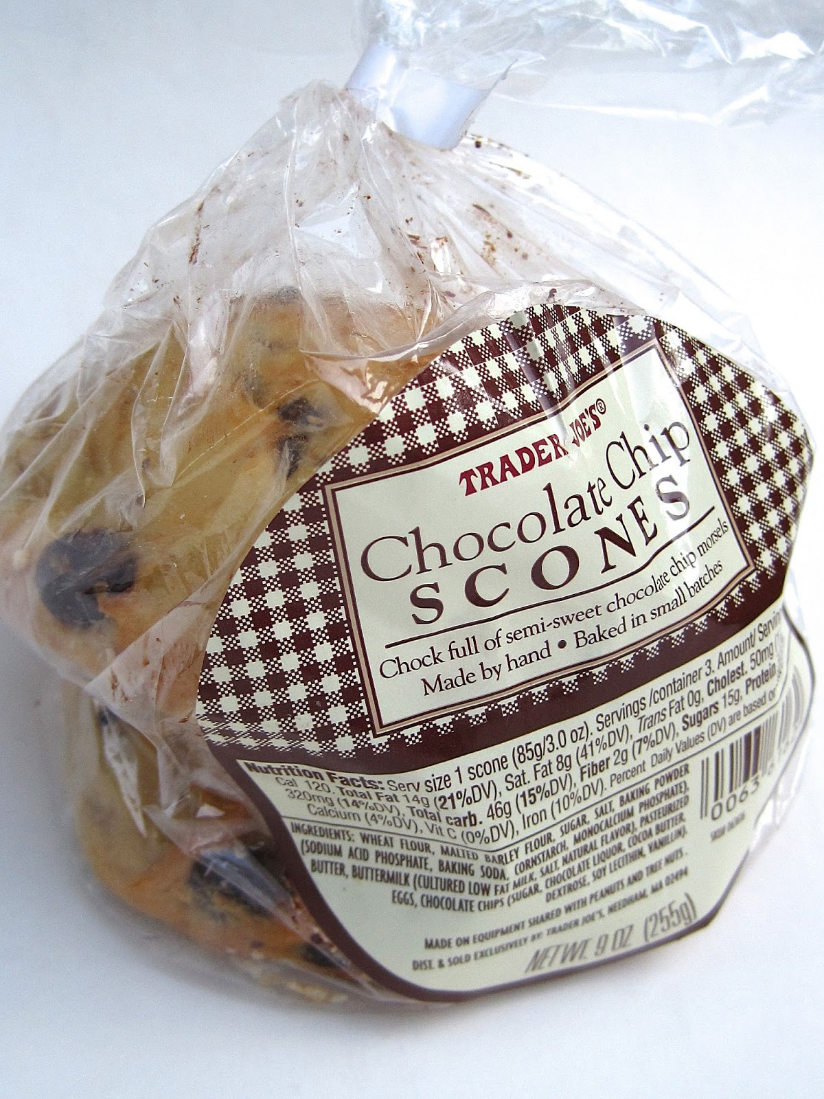 Tea With Friends: Scones from Trader Joe's