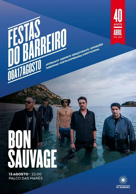 Festas do Barreiro - Bon Sauvage