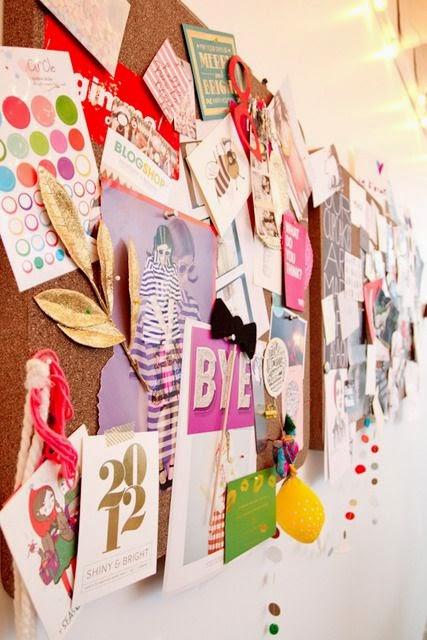 bureau, office, affiche, pele mele, inspiration, bullelodie