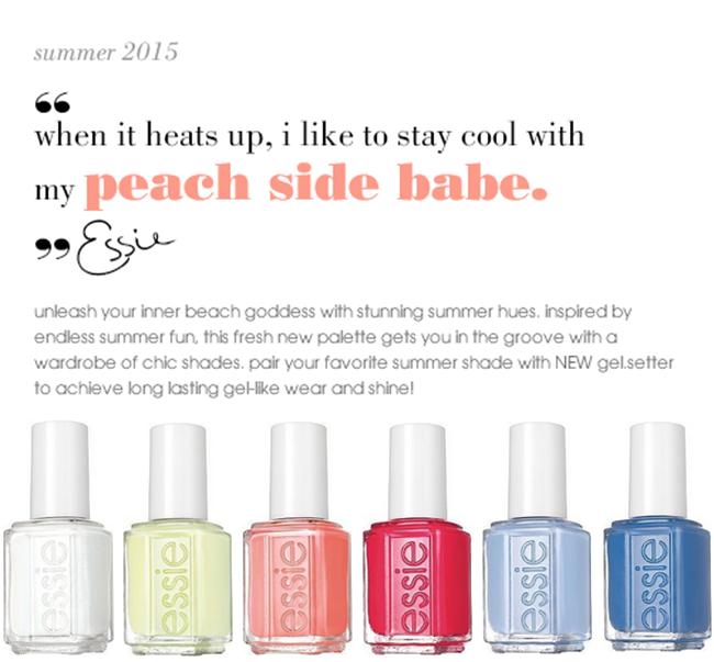 Stylish Nail Collection: Essie Summer 2015 \
