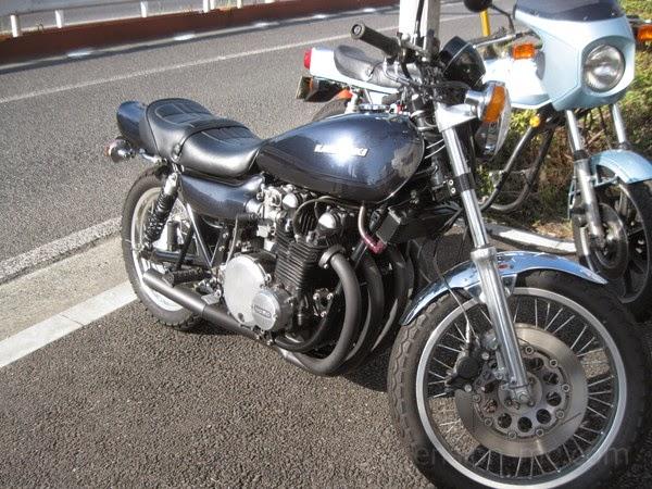 カワサキ Z1 サスペンション セッティング