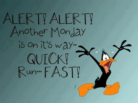 Funny Facebook Status: Monday is coming funny facebook ...
