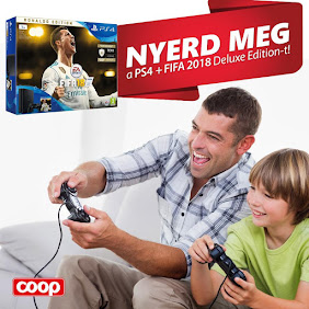 NYERD MEG TE A PS4 + FIFA2018 Deluxe Edition-t!