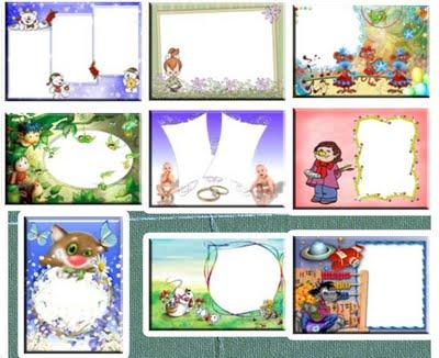 Molduras para fotos, conmvites, cartões de 15 anos