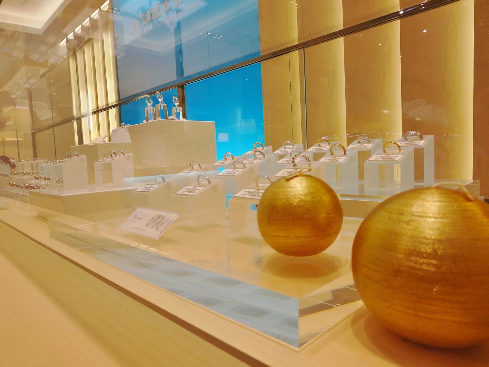FURRER JACOT gallery NAGOYA  ウエーヴ ダイヤモンド FURRER JACOT フラージャコー 名古屋 栄 結婚指輪 ゴールド 鍛造
