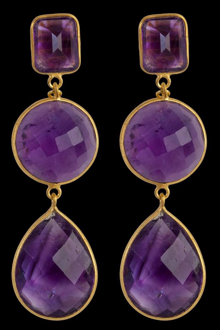 The Royal Source: Victoria wears purple Charlotte Bonde ...