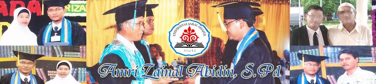 Amri Zainal Abidin, S.Pd