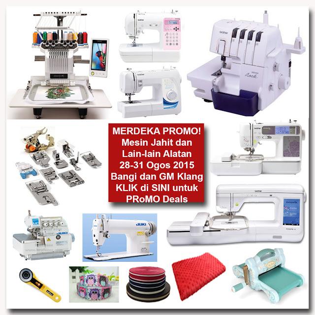 sewing machine embroidery machine promotion shah alam kelang bangi kajang putrajaya kl selangor malaysia
