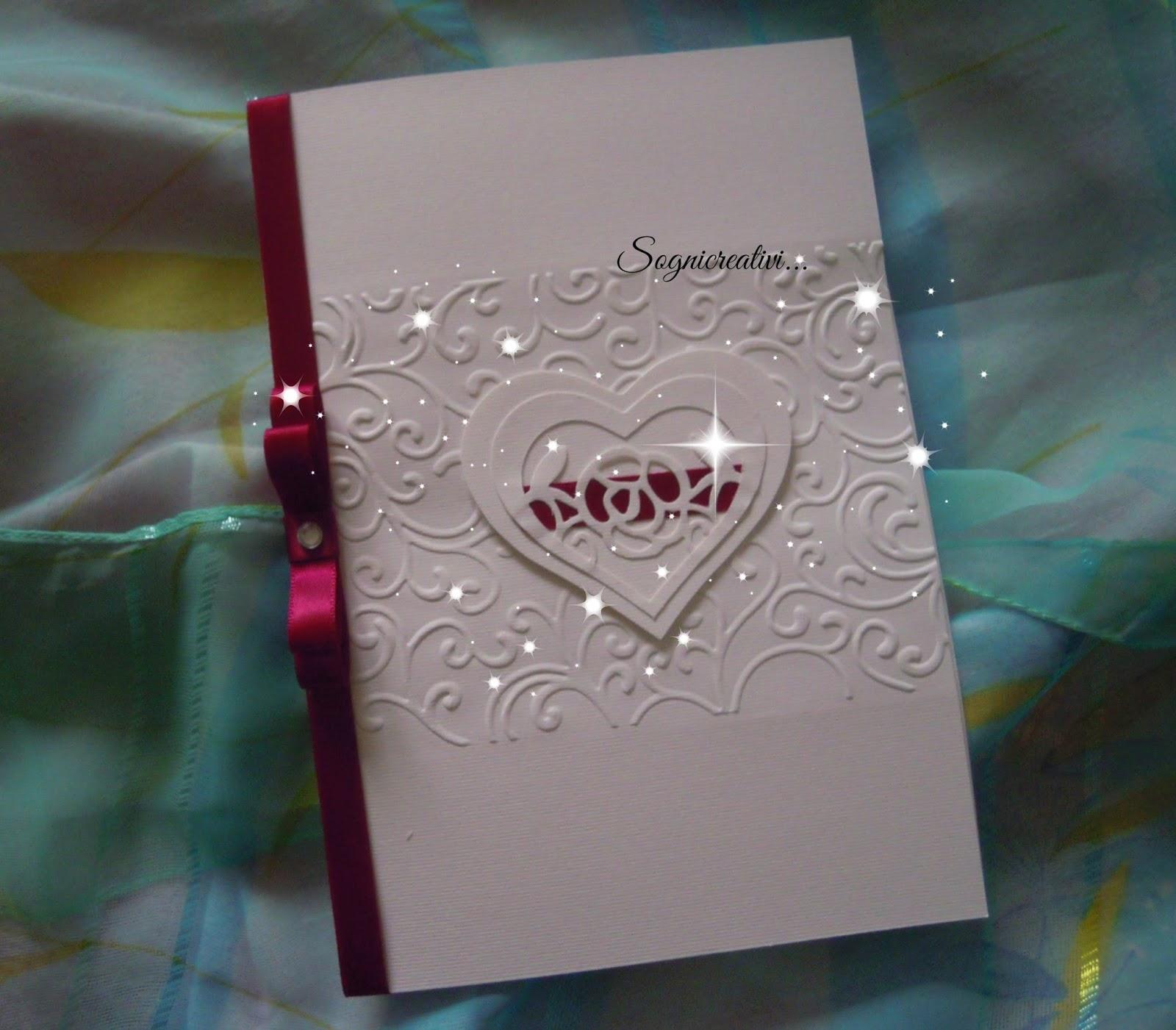 Favorito Partecipazioni Sognicreativi Wedding and Events: Partecipazione  AL05
