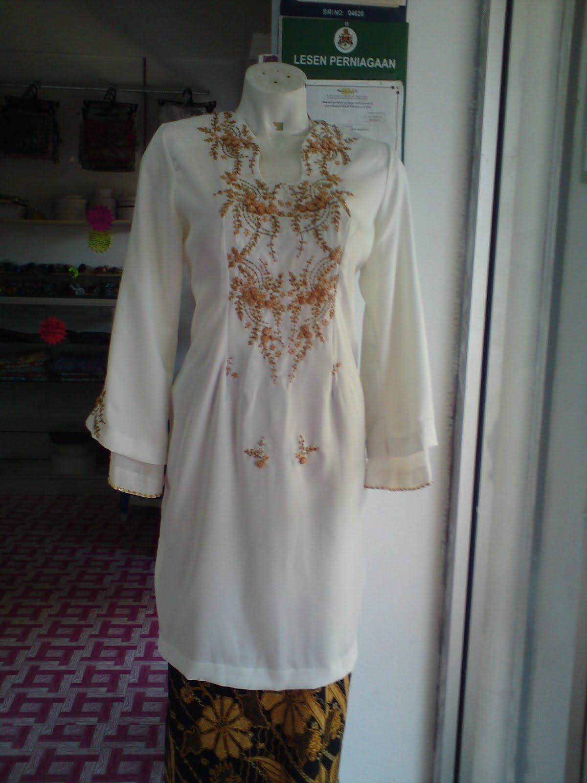 Cara Membuat Pola Baju Kurung Moden