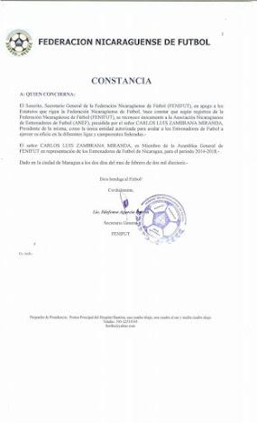 ASOCIACIÓN NICARAGUENSE DE ENTRENADORES DE FÚTBOL