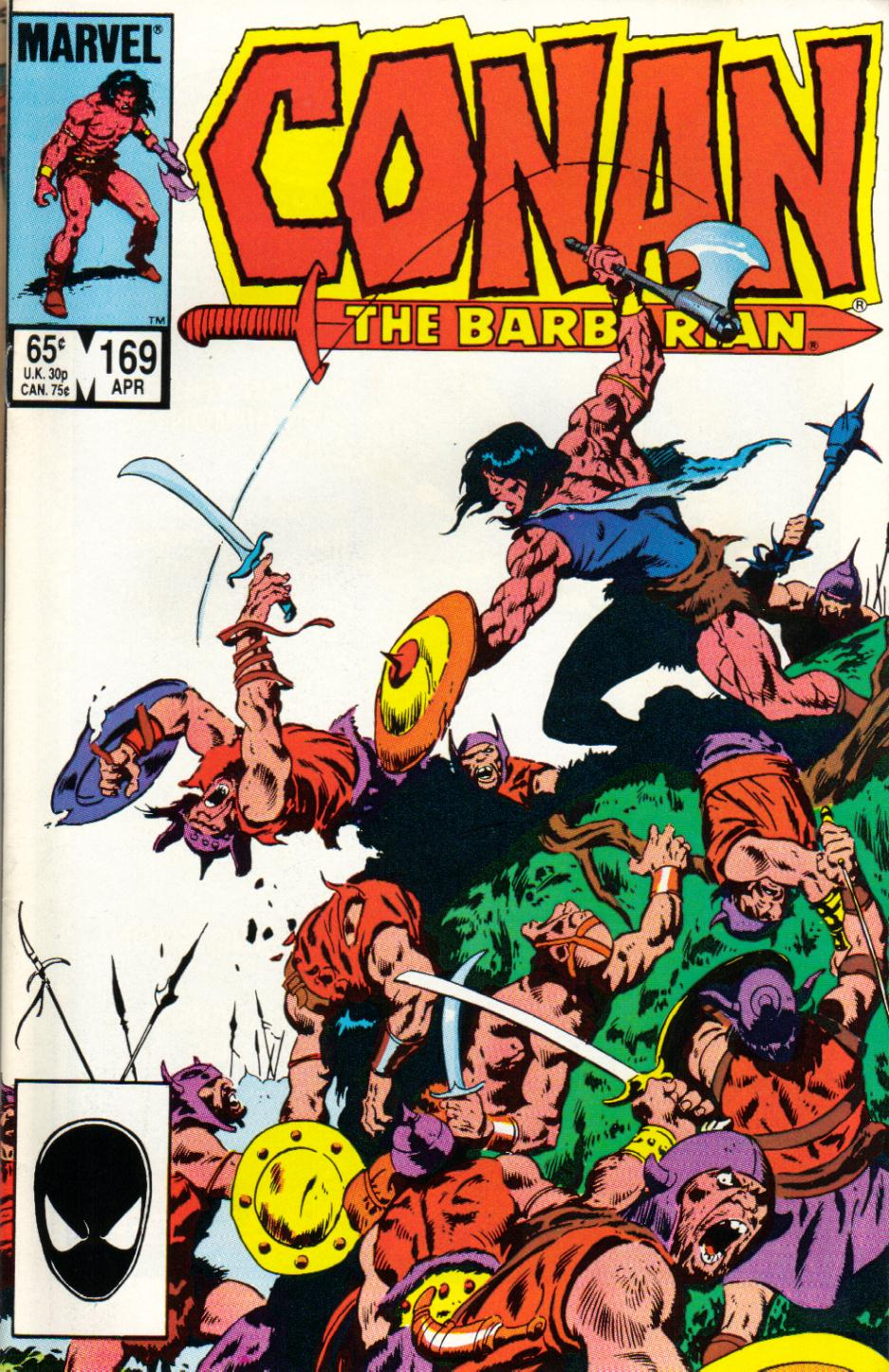 Conan the Barbarian (1970) Issue #169 #181 - English 1