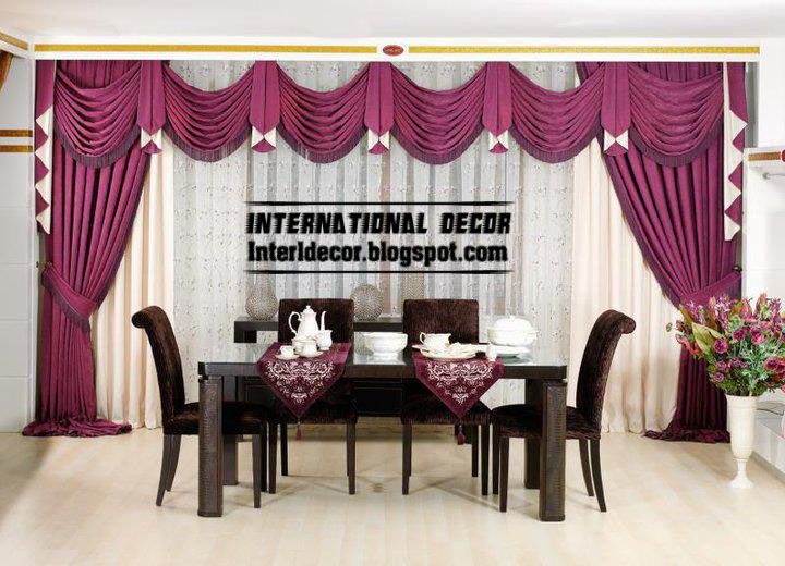 Best Dining Room Curtain Designs Pictures - House Design Interior ...