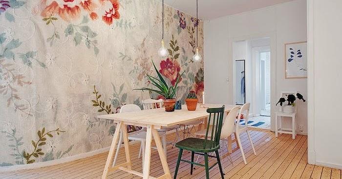 Decoracion con vinilo decorativo murales papel pintado - Papeles pintados romanticos ...
